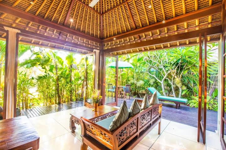 Million$Ricefield  Views, Private Waterfall Villa
