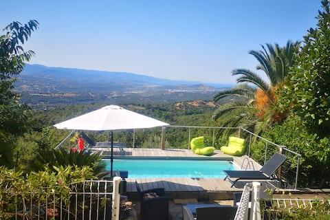 Wonderfull villa with swimming-pool