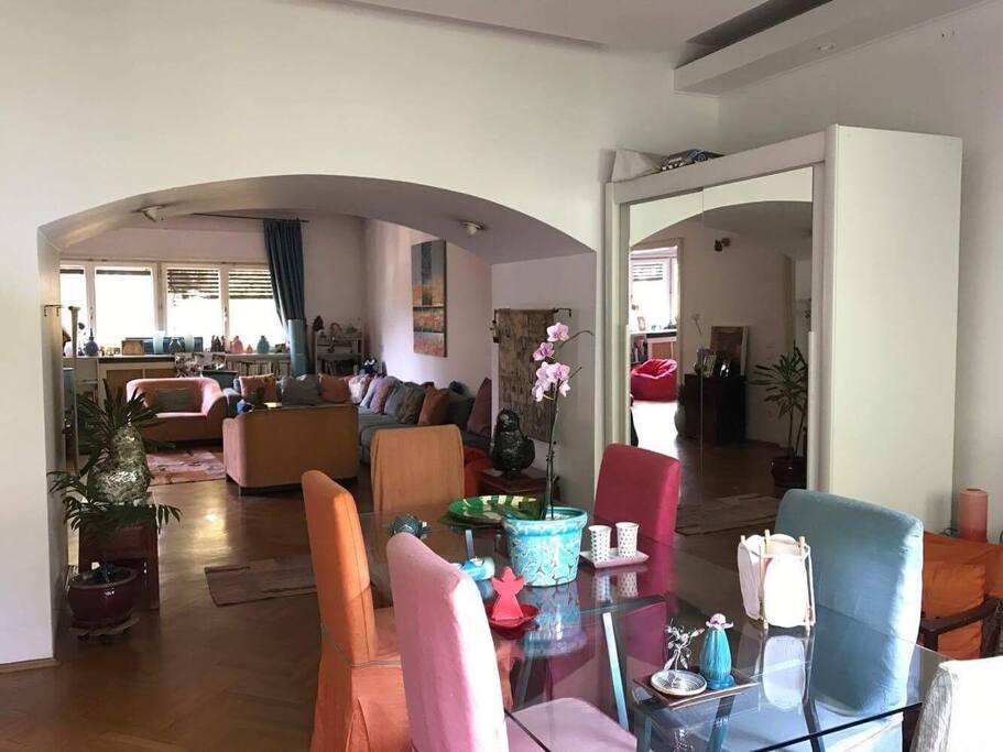 Triple salon - salle à manger