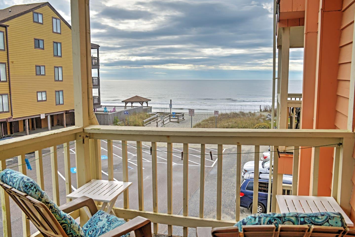 You'll simply adore this Garden City Beach vacation rental condo.
