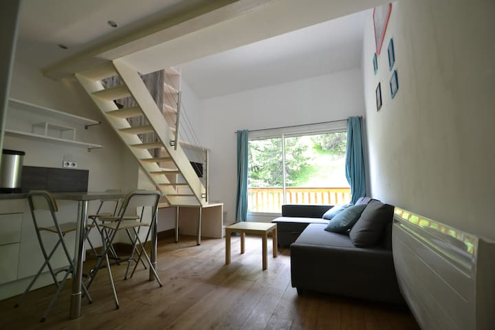 Duplex cosy Courchevel Village - Saint-Bon-Tarentaise - Apartemen