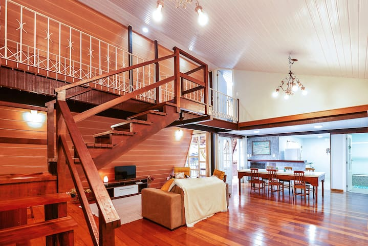 Casa Mandala3 quartos na Serra