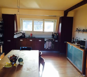 """Chalet"" cosy central penthouse - Basel - Flat"