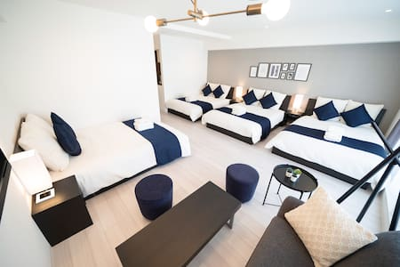 STAY&GO Shinsaibashi☆Built in 2019/Up to 8 guests