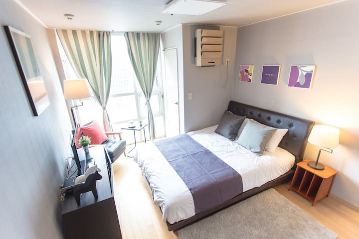★SALE★ Private Studio for Cozy @ DONGDAEMUN #3 - Jung-gu - Obsługiwany apartament