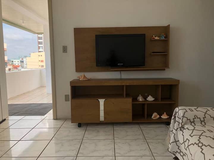 Apartamento Inteiro - 5 Min/Praia Do Meio(Prainha)