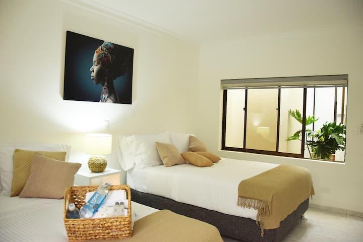 Beautiful bedroom near to pier