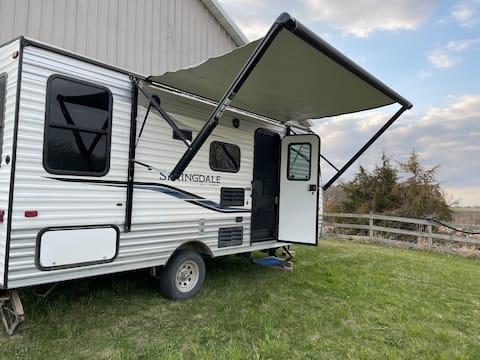 Unique camper farm stay