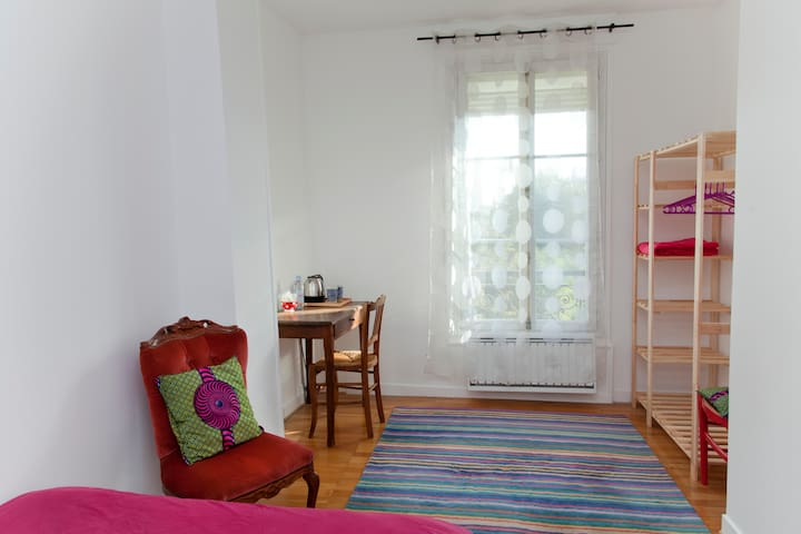 2 separate rooms in duplex near Paris. - Saint-Denis - Bed & Breakfast