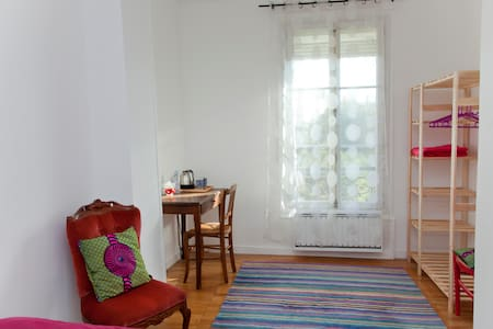 2 chambres + Sdb privée dans duplex à 12mn Paris. - Saint-Denis - Bed & Breakfast