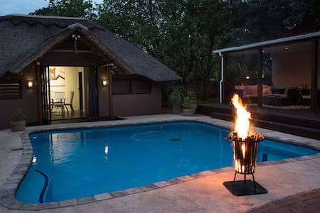 Delightful cottage 4km from Kruger National Park. - Phalaborwa - อพาร์ทเมนท์