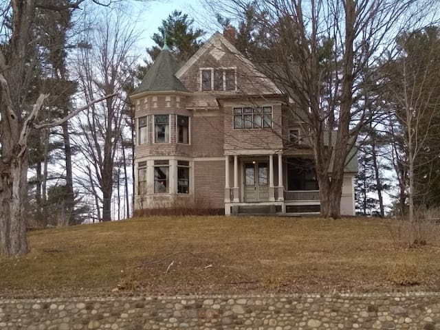 The Frank Hill House in the Lakes Region