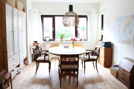 Bright, peaceful and charming flat. Close to city. - Odense