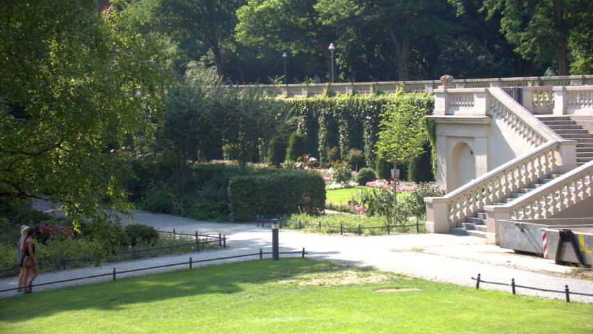 koernerpark, 5 minutes walk from the apartment