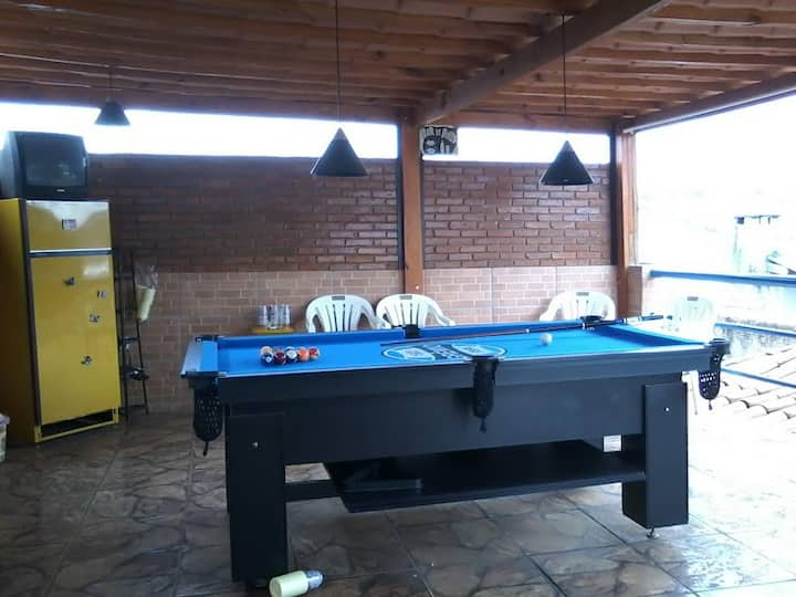 Kit net , rustico,piscina kiosky rede,wifi