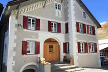 The apartment is located on the ground floor of the house - Chasa 32 in 2017 fully restored and renovated