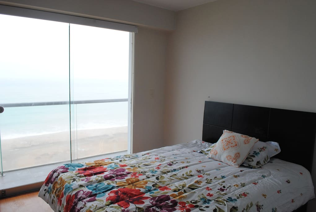 Master bedroom with front oceanview