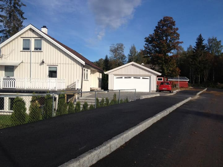 Modern 2 room home  between Oslo & Drammen