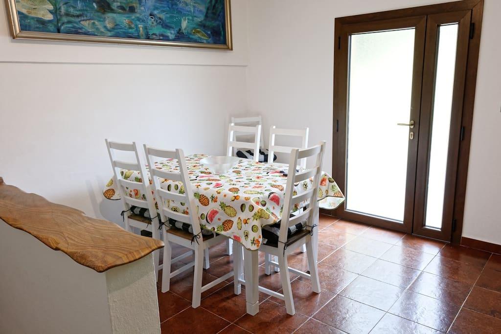 Ingresso/Cucina/Soggiorno - Entrance/Living room/Kitcken