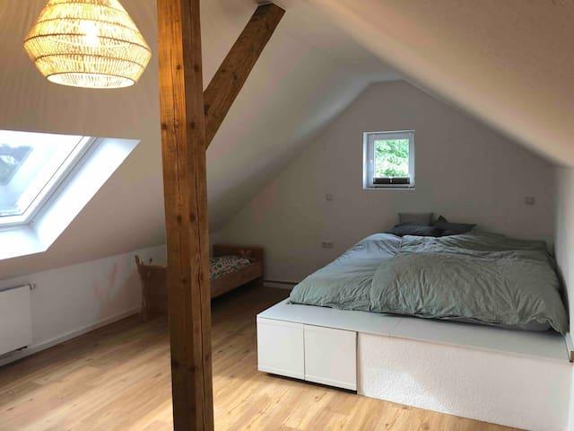 Schlafzimmer 3 Bett 180x200cm