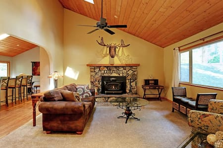 Wicker Moose Manor - Pollock Pines - Talo