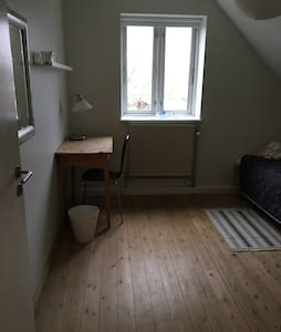 Nice bedroom for two with bathroom and livingroom - Hillerød