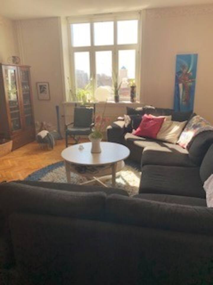 Lägenhet på gågatan i Ystad