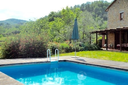 Tuscan villa with swimming pool - Castelveccchio - Villa