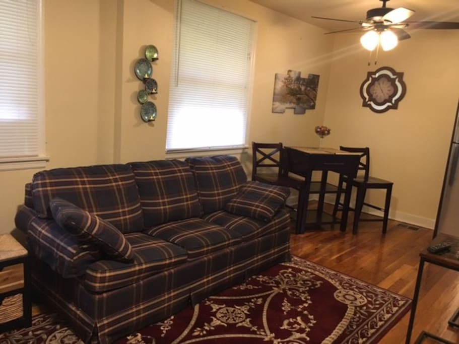 1st level living room/dining room combo