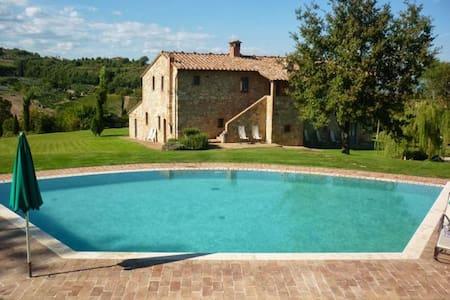 Beautiful stone-built villa with hydro jet pool - Sant'Albino - วิลล่า
