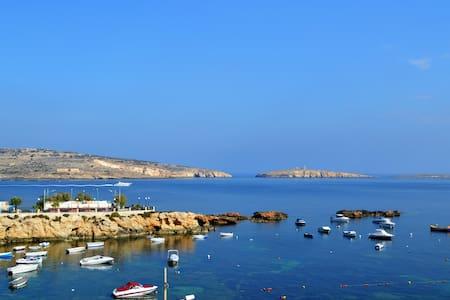 Cosy apt with stunning views w/WiFi - San Pawl il-Baħar