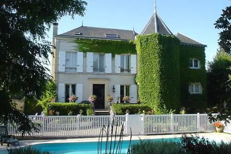 Chambre rez-de-jardin Les Magnolias - Saint-Chéron - Dom