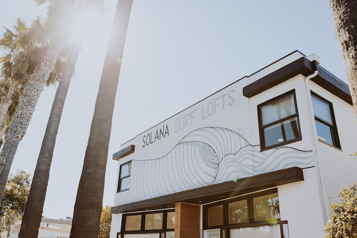 Minimalist, High End Design - Solana Surf Loft