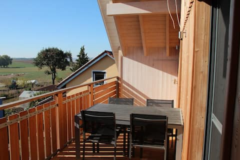 Gemütlich-geräumige 3-Zimmer-Wohnung mit Aussicht