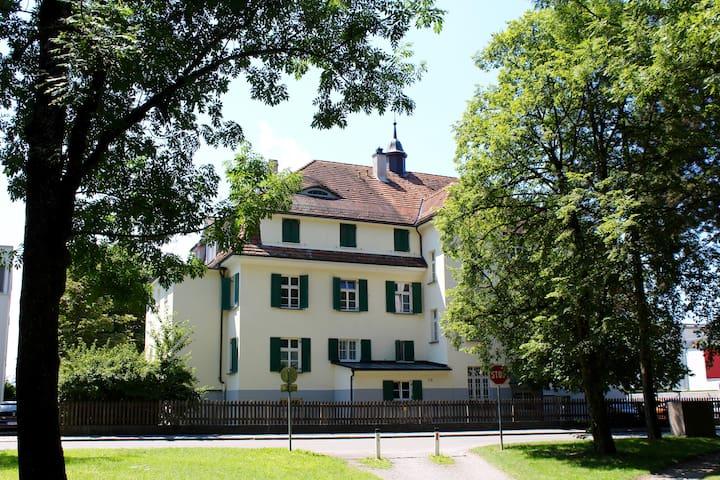 Boutique Apartment Bodensee - Schweizer Bergblick