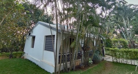 Garden & Lawn View Individual Villa with 2 BedRoom