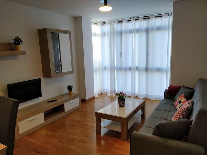 Un acogedor apartamento  en Muxia con vistas2F