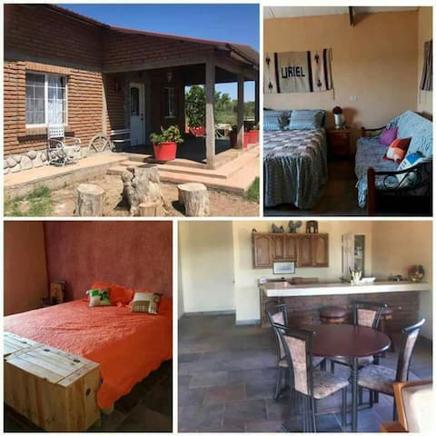 """Cabaña """"Las Ranitas"""", Casas Grandes Chihuahua."""