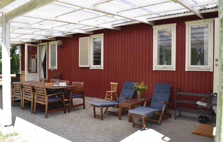 Holiday apartment with 3 bedrooms on 80m² in Haverdal