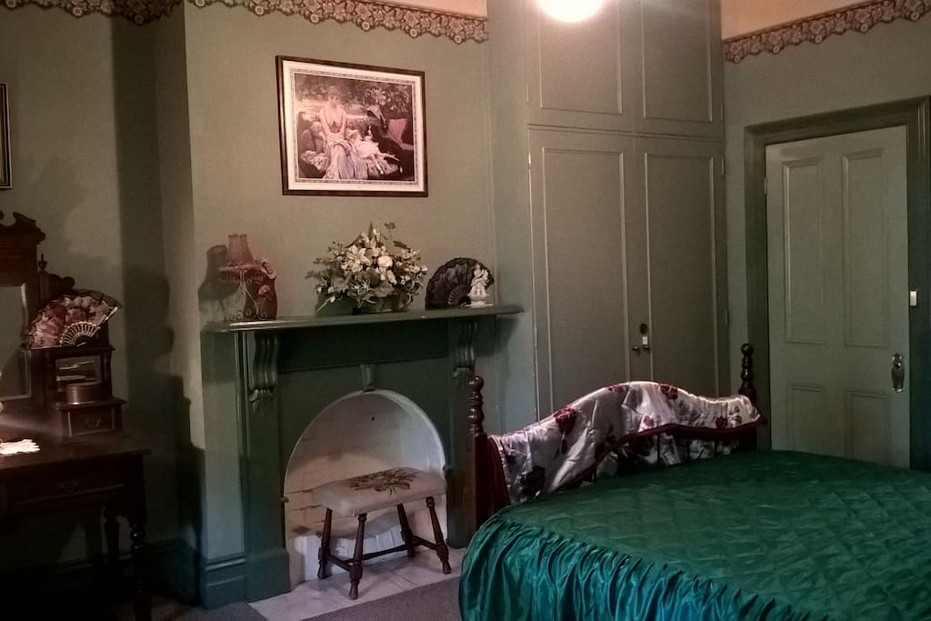 A view of the Master Suite room at Tara House