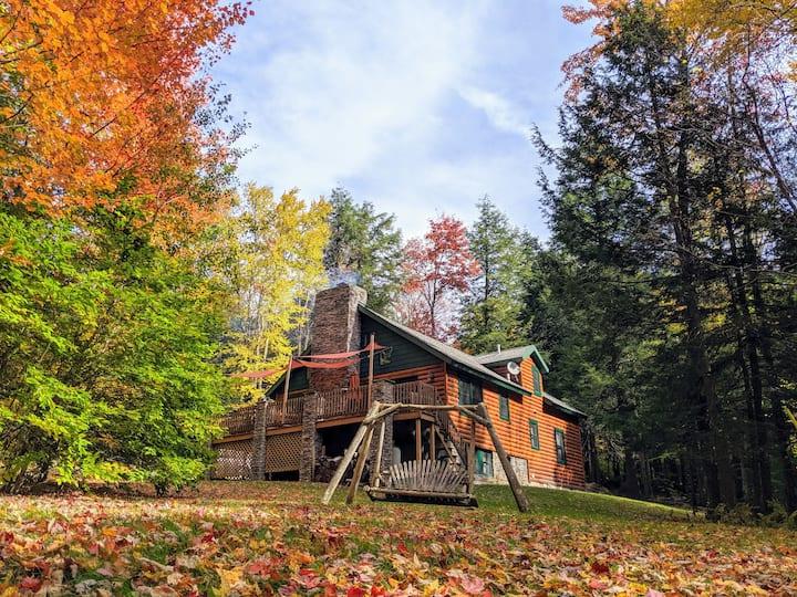 Catskills cabin near skiing and hiking