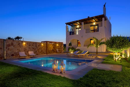 Villa Deep Blue - Rodos - Casa de camp