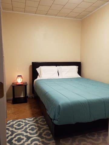 Bedroom 2: Luxury Queen Memory Foam Mattress, New Furniture, and Himalayan Salt Lamp