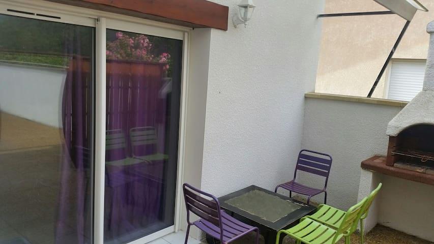 Grand Apt T3 avec terrasse et BBQ - Labenne, Nouvelle-Aquitaine, FR - Apartment