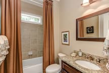 Attached Guest Bathroom