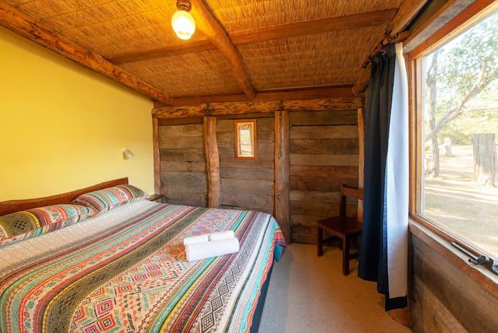 Log Cottage Main Bedroom