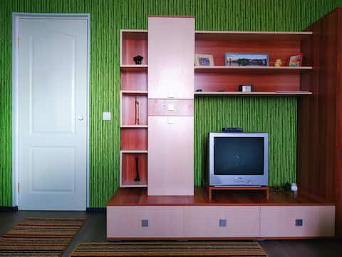 Clean and inexpensive apartment in Gorokhovets