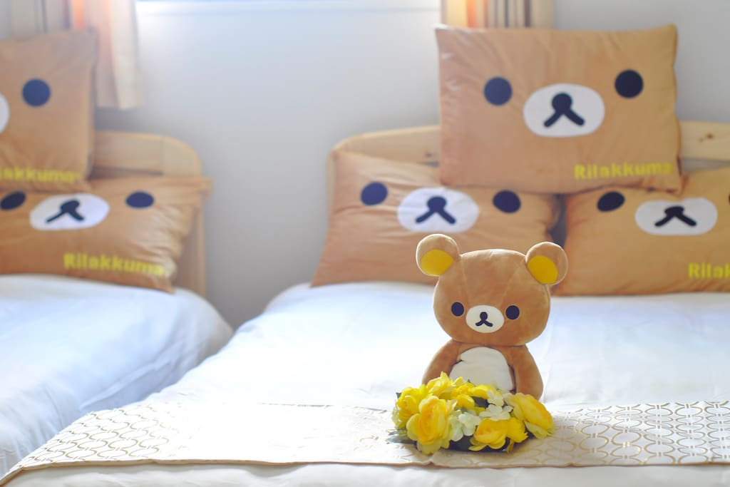 Rilakuma is waiting for you! 轻松熊等着你哦!