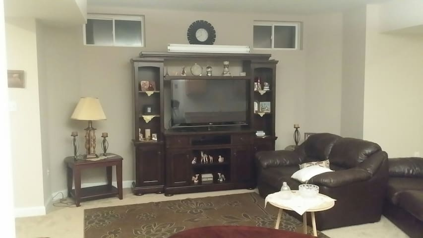 Luxurious fully furnished basement!