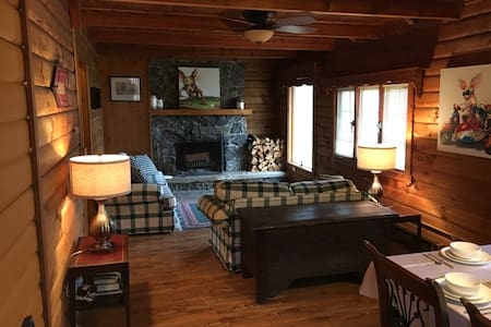 Cozy log cabin by Owasco Lake - Auburn - Talo